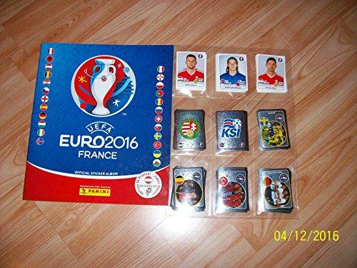 Panini Euro 2016 France Stickeralbum komplett
