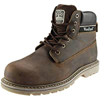 Woodland 6 Eye Utility Mens Boots Brown