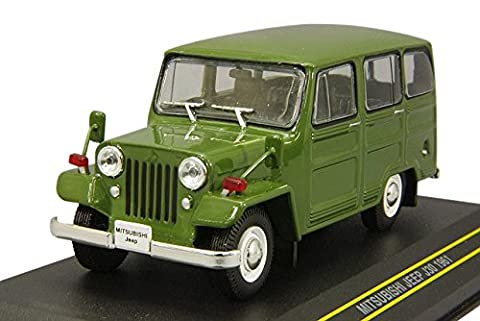 First43 / Fast 43 Mitsubishi Jeep 1961 1/43 scale Green F43-013