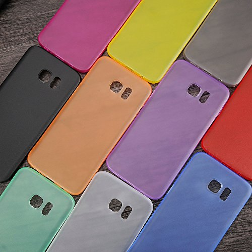 Monkey cases® Ultra sottile silicone opaco Look – Premium – Custodia per Cover – Slim 0,3 Mm Flash gelb