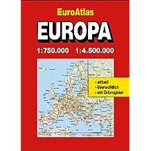 Shell Euro Atlas. (Mairs)