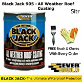 Black Jack 905 | All Weather Roof Coating | By Everbuild | FREE