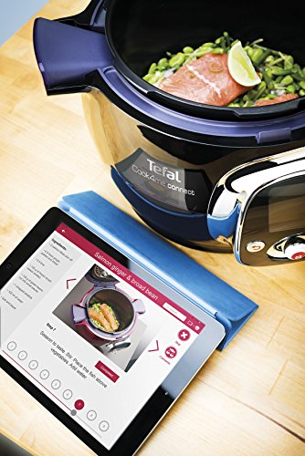Tefal Cook4Me Connect Multi-Cooker with Interactive Control Panel, Connected Capability and 50 Integrated Recipes, 6 L