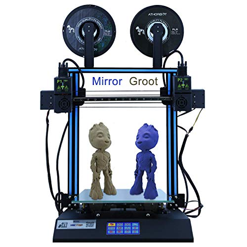 HICTOP D3 Hero Independent Dual Extruder Direct Drive IDEX 3D-Drucker 24 V 300 * 300 * 350mm - 3