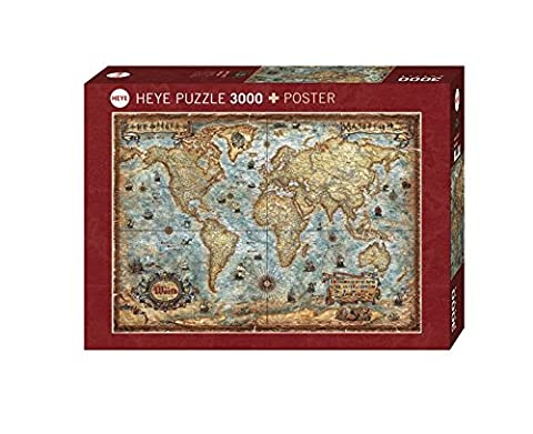 Heye - 29275 - Puzzle - The World - 3000 pièces