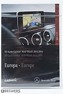 garmin map pilot sd card 2015 2016 a b cla cls e gl. Black Bedroom Furniture Sets. Home Design Ideas
