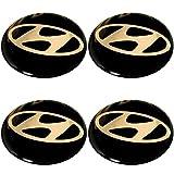 Radnabenkappen Hyundai Embleme Felgen Aufkleber Logo Nabendeckel Nabenkappe Radkappe 4