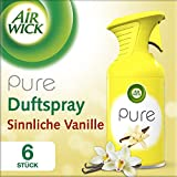 Air Wick Pure Premium-Duftspray Duo, Sinnliche Vanille, 3er Pack (3 x 2 Stück)