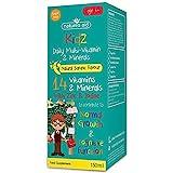 Natures Aid 150 ml Plátano Sabor Kidz Multivitamínico y Minerales