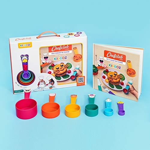 Coffret Kiddoz : On s'amuse en cuisine avec les tasses Kiddoz