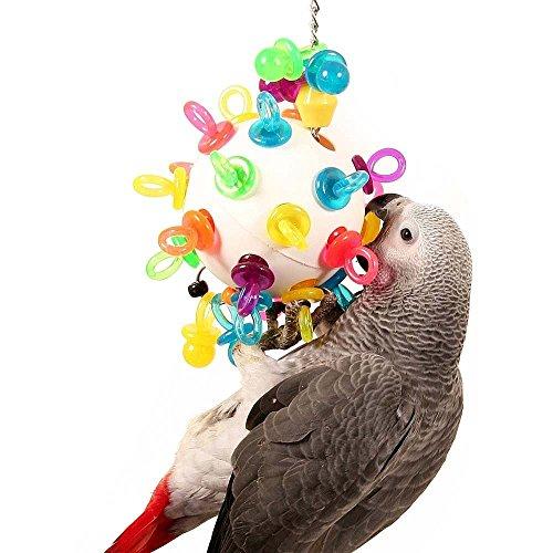 Super Binkies Appeso Wiffleball Parrot Toy-Grande