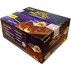 Rite Bite Max Protein Energy Bar - 900 g (Choco Fudge, Pack of 12)