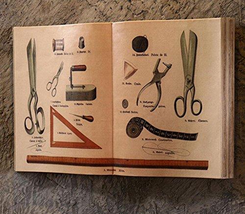 Dzw Retro Arazzi Finti Libri Pendenti Di Studio Creativi Vento