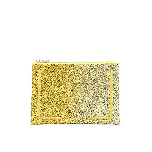 Borsa Pochette Patrizia Pepe Glam Yellow Glitter art 6653/A3GH-XS63