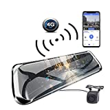 Dash Cam, ANSTAR Full HD1920x1080P Rückfahrkamera ADAS Wifi 10''PS 4G HD Vision Nocturne Brille Auto