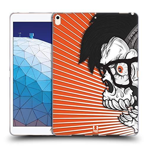 Head Case Designs Hipster Jung Totenkopf Showdown Soft Gel Huelle kompatibel mit iPad Air (2019)