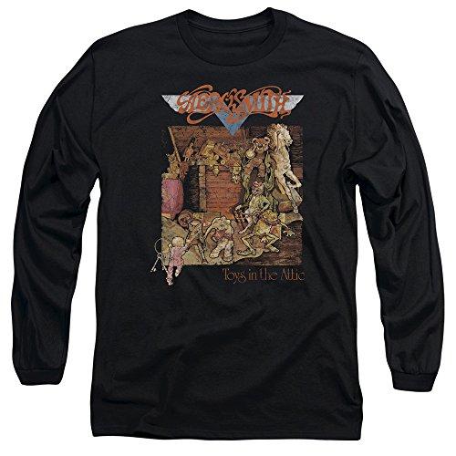Aerosmith - Herren Toys Langarm-T-Shirt Black