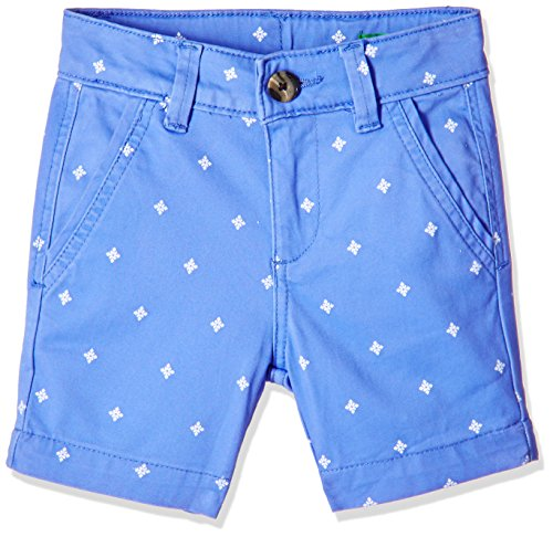 United Colors of Benetton Baby Boys' Shorts (17P4WBOTC039I_Blue_0Y)