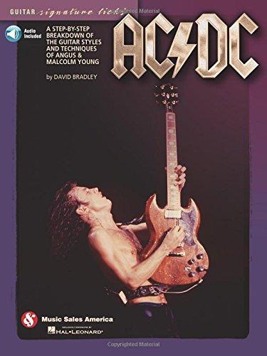 Cds Kostüm Aus - AC/DC - Guitar Signature Licks: Lehrmaterial, CD für Gitarre