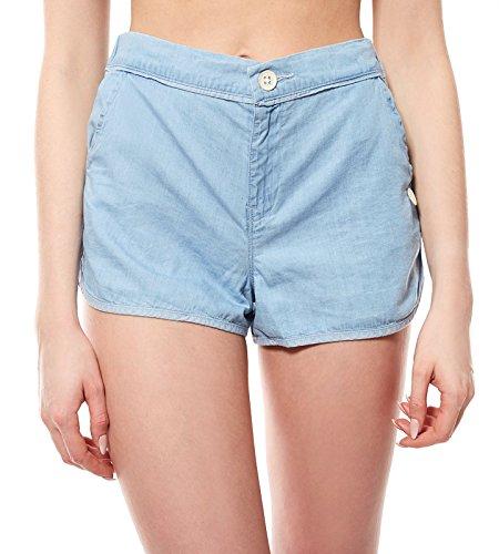 Lee Beach Short Hose Damen Shorts Jeans Blau L37DLHLB, Größenauswahl:S
