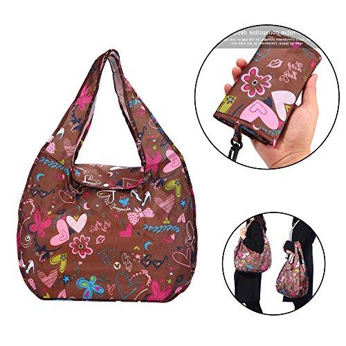 ee030f209 Auoker Faltbare große Einkaufstasche, kreative Wasserdichte Tasche,  Umweltfreundliche Reisen Recycling Tasche, Tragbare handliche. Shopping  tote bag ...