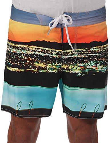 Bench Herren Badeshorts Boardshorts SITYSUN mehrfarbig (Neutral Grey) 32
