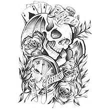 Design de tatouage Styles individuels Tatouages de corps faux Autocollants de tatouage temporairemen