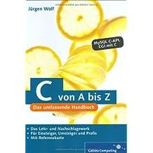 C von A bis Z (Galileo Computing)
