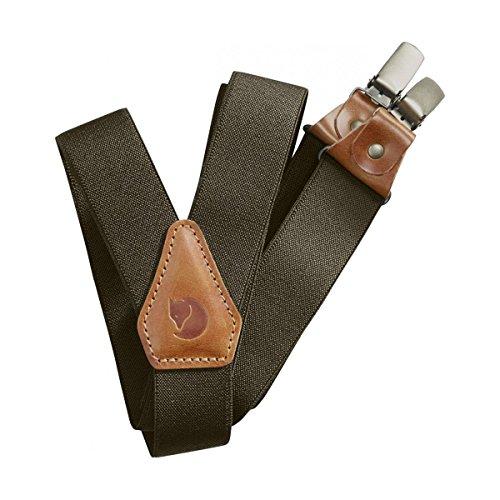 Fjällräven Singi Clip Suspenders - Hosenträger dark olive