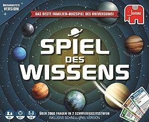 Spiel Des Wissen Original Niños y Adultos Juegos de Preguntas - Juego de Tablero (Juegos de Preguntas, Niños y Adultos, 45 min, Niño/niña, 8 año(s), Multicolor)