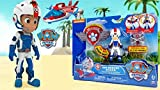Spinmaster 20078877 - Air Rescue Ryder Paw Patrol Action Figurine & Badge