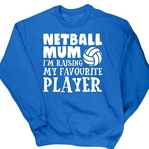 hippowarehouse-netball-mum-im-raising-my-favourite-player-unisex-jumper-sweatshirt-pullover