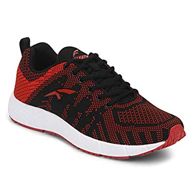FURO by Red Chief Red/Black Walking Sports Shoes for Men (O-5011 849) (10 UK)