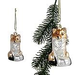 Fuchs Christbaumschmuck Weihnachten Weihnachtskugel Baumschmuck Weihnachtskugel Christbaum Anhänger Weihnachtsbaum
