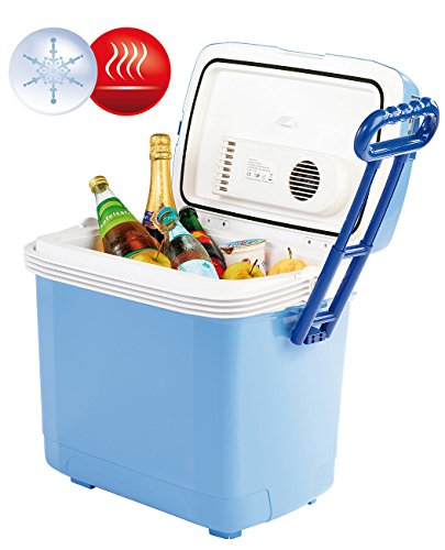 Xcase Wärmebox für Essen: Thermoelektrische Kühl- und Wärmebox, 30 l, 12 & 230 V Anschluss (Elektrische Wärmebox) -