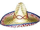 GYD Sombrero Mexico-Hut Ideal für Party Karneval Fasching Verkleidung Strohhut