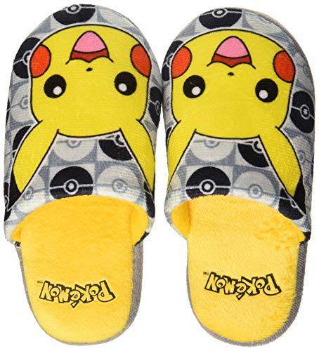 Pantofole Per Bambini Pokemon 72818 Grigio Giallo 28-29