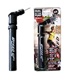 #10: Speed Up Dual Action Pump Hand Ball Pump Small Easy To Use And Carry For All Balls Basket,Volley,Football.