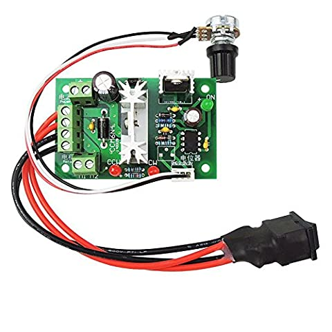 Rokoo DC Motor Speed Governor Adjustable Reversible Switch PWM 200W Variable Speed Control CCM6N