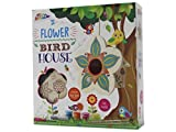 Arts & Crafts Activity For Children - 3D Wooden Flower Birdhouse For Ages 5+