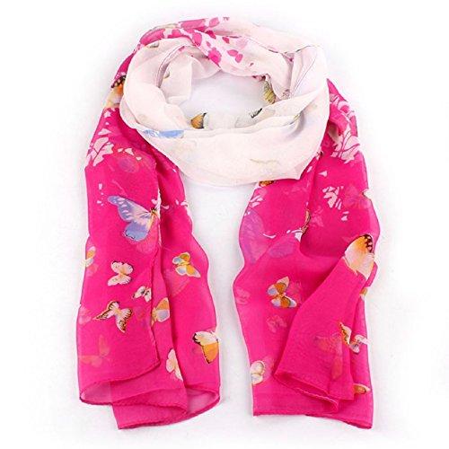 Atdoshop(TM) Women's Autumn Spring Fashion Soft Big Long Scarf Vintage Flower Printing Scarves