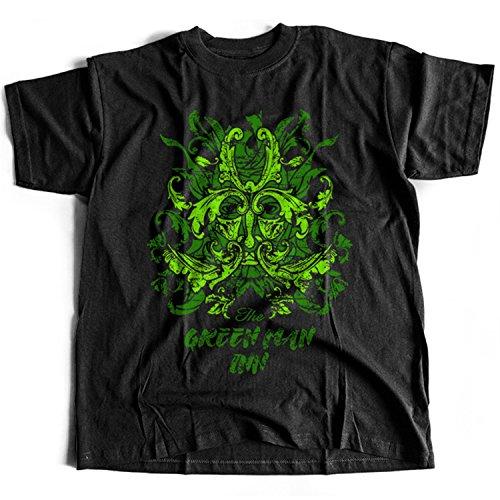 9369 Green Man Inn Herren T-Shirt The Wicker Man Summerisle Festival Lord Burning - Wicker Man-shirt