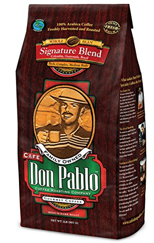 2lb-cafe-don-pablo-gourmet-coffee-signature-blend-medium-dark-roast-coffee-whole-bean-coffee-2-pound