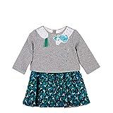 Catimini Baby-Mädchen Kleid Robe Pour, Grau (China Grey 20), 2 Jahre (Herstellergröße: 2A)