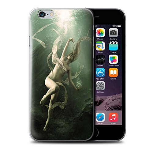 Officiel Elena Dudina Coque / Etui pour Apple iPhone 6+/Plus 5.5 / Sonrisas/Dauphin Design / Agua de Vida Collection Sous-Marin