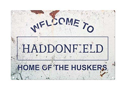Halloween: Willkommen Haddonfield Metall Schild