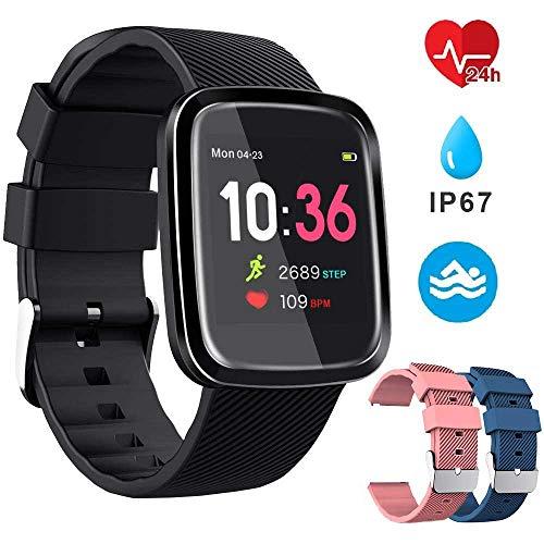 Smartwatch Reloj Inteligente Deportivo Pulsera Actividad Inteligente IP67 Duración Batería 10-15 días...