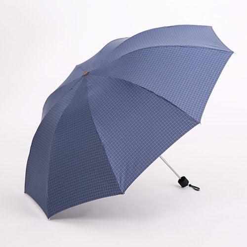 ZQ@QXNero in gomma fold UV Ombrello Ombrelloni , , , gli uomini e le donne di Coloreeee blu | Miglior Prezzo  | Cheapest  0342ce