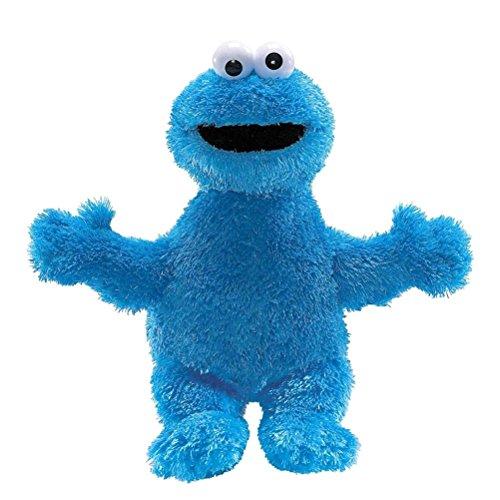 Offizielle Sesamstraße Cookie Monster Super weiches Plüschtier - Retro-Geschenke (Cookie Monster Plüsch)