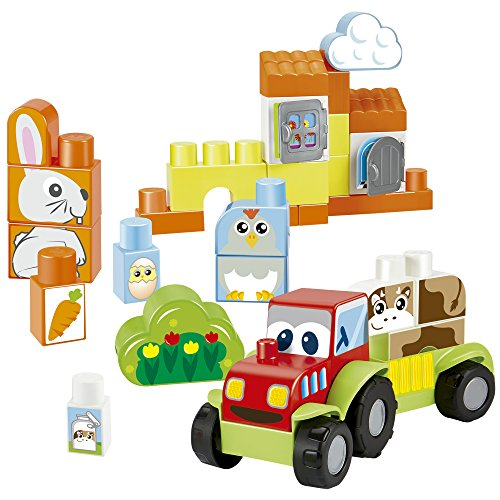 Abrick Maxi Set de construcción granja (Smoby 7795)